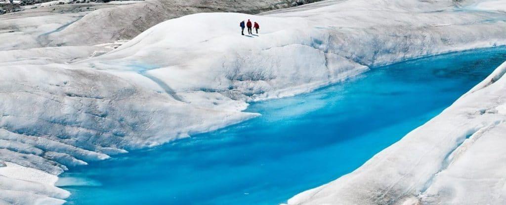 Icefields in Juneau, Alaska
