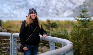 Women hiking in Juneau Alaska