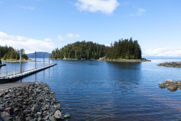 Stunning views at Point Bridget State Park in Juneau