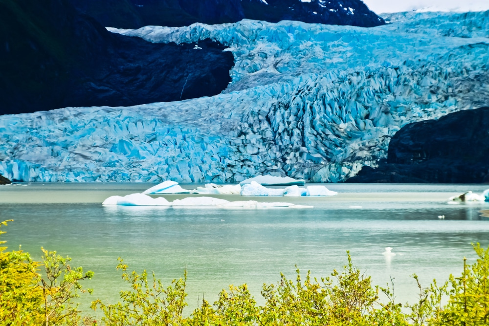 Mendenhall Glacier is one of the top things to do in Juneau this fall